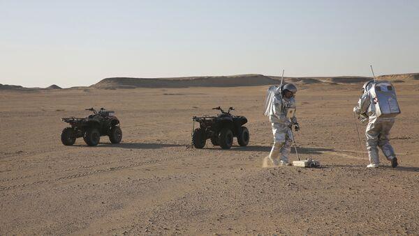 Symulacja życia na Marsie - Sputnik Polska