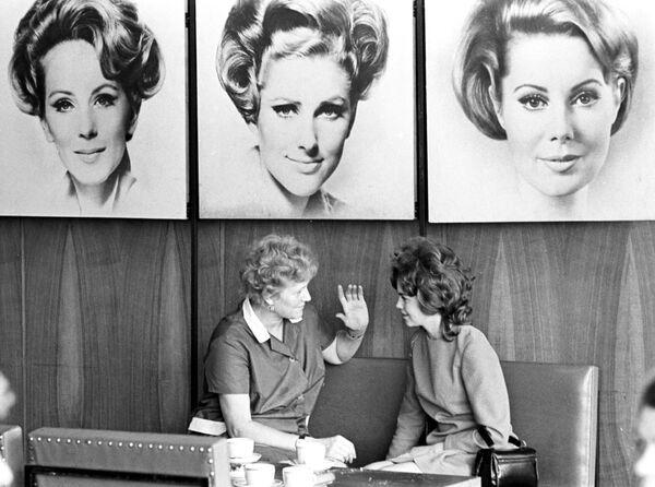 Salon piękności Czarodziejka w Moskwie, 1974 rok. - Sputnik Polska