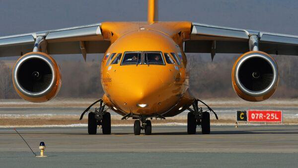 Samolot An-148 Saratowskich linii lotniczych - Sputnik Polska