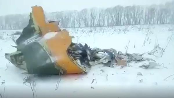 Miejsce katastrofy rosyjskiego samolotu An-148 - Sputnik Polska