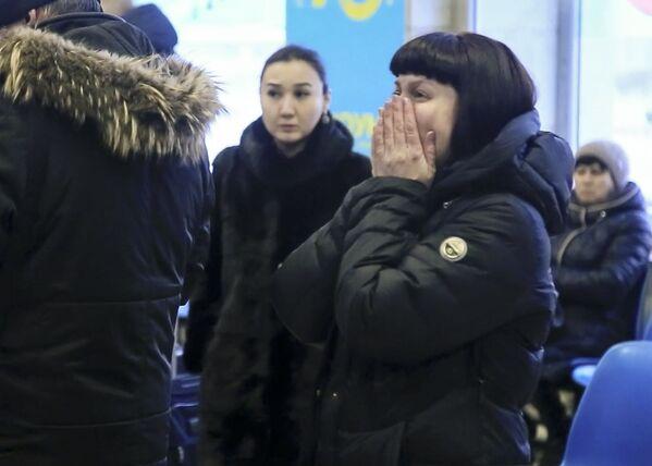 Rodzina i przyjaciele ofiar katastrofy samolotu An-148 Saratowskich linii lotniczych pod Moskwą - Sputnik Polska