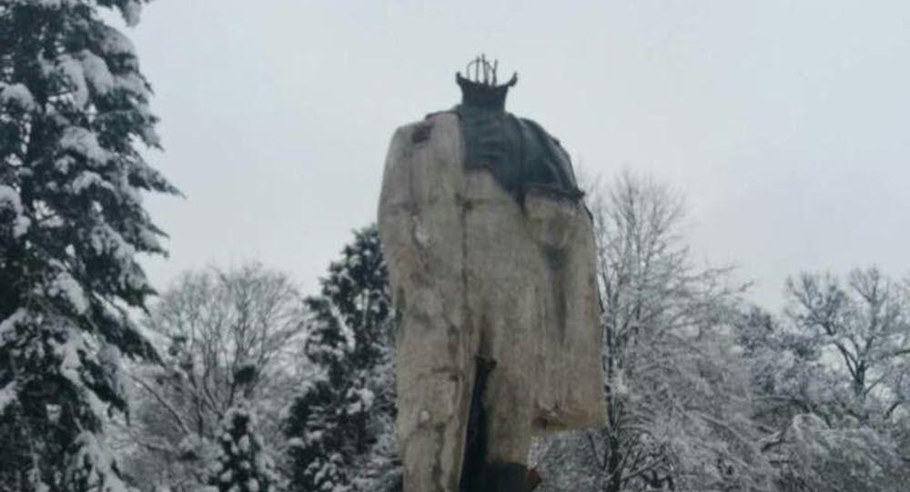 Pomnik Tarasa Szewczenki zbezczeszczony w obwodzie lwowskim