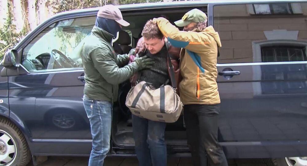 Obywatel Ukrainy Konstantin Dawydenko zatrzymany przez funkcjonariuszy FSB Federacji Rosyjskiej w Symferopolu