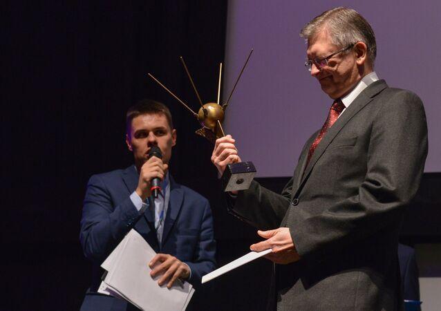 Siergiej Andriejew na festiwalu filmów Sputnik nad Polską