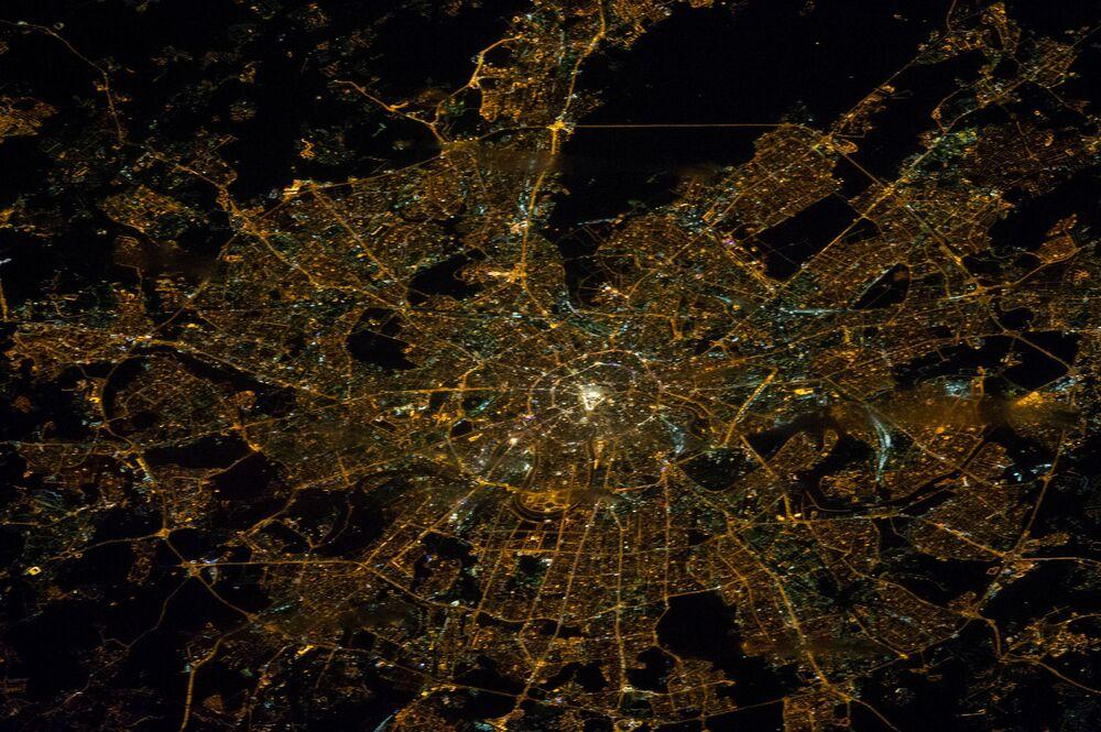 Moskwa z bortu MSK