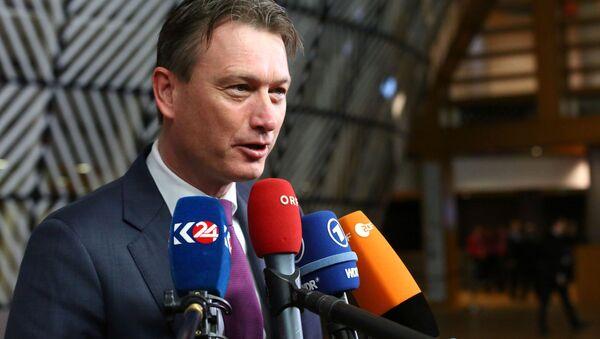 Minister spraw zagranicznych Holandii Halbe Zijlstra - Sputnik Polska