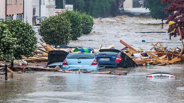 Powódź w Niemczech  - Sputnik Polska