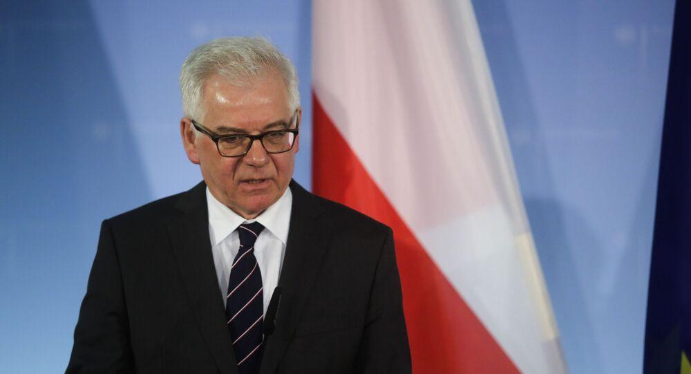 Minister spraw zagranicznych Polski Jacek Czaputowicz