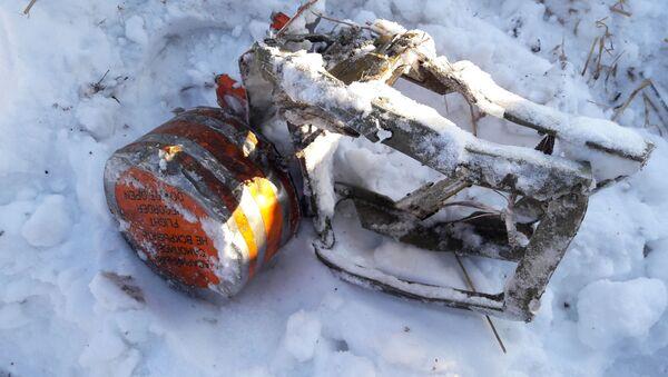 Jedna z czarnych skrzynek samolotu An-148, który rozbił się pod Moskwą - Sputnik Polska