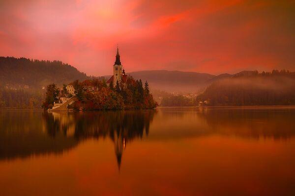 Jezioro Bled, Słowenia - Sputnik Polska