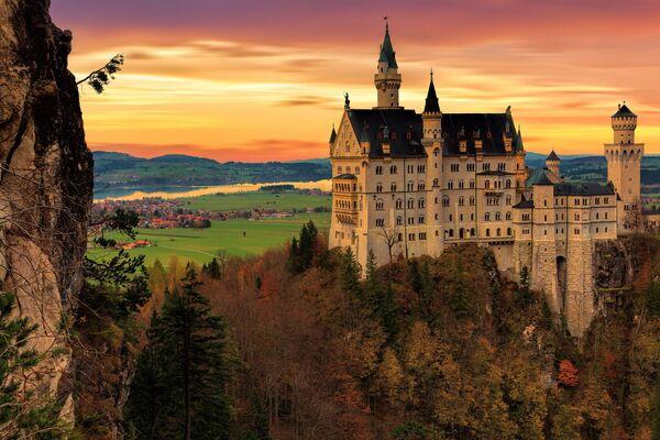 Замок Нойшванштайн в Германии - Sputnik Polska