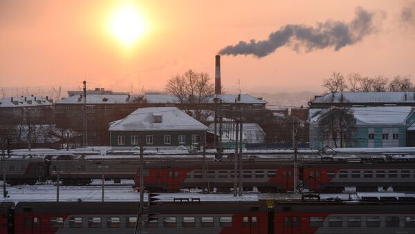Kolej Transsyberyjska - Sputnik Polska