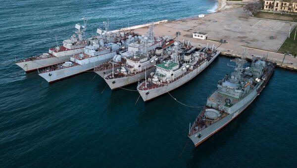 Okręty wojskowe należące do Krymu - Sputnik Polska