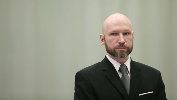 Norweski terrorysta Anders Breivik - Sputnik Polska