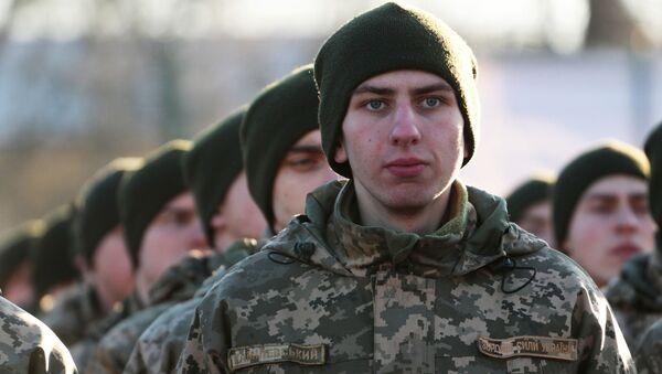 Żołnierze armii Ukrainy - Sputnik Polska