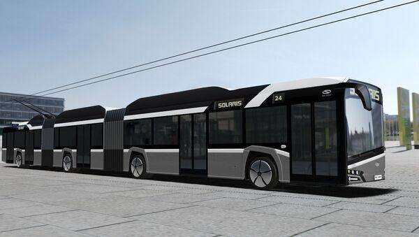 Nowy polski trolejbus Trollino 24 - Sputnik Polska