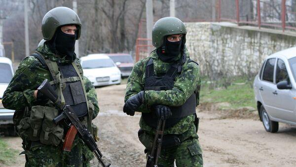 Pracownicy organów ścigania w Dagestanie. Zdjęcie archiwalne - Sputnik Polska