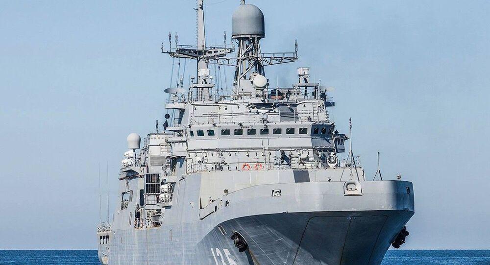 Duży okręt desantowy Iwan Gren
