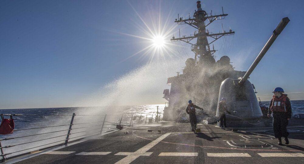 Niszczyciel Marynarki Wojennej USA Carney