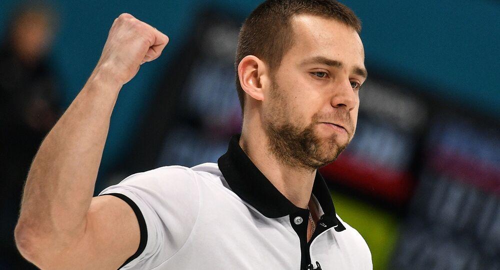 Rosyjski zawodnik Aleksander Kruszelnicki