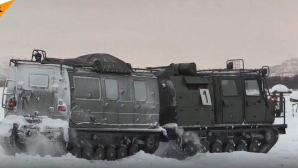 Pływające śniegobłotochody - Sputnik Polska