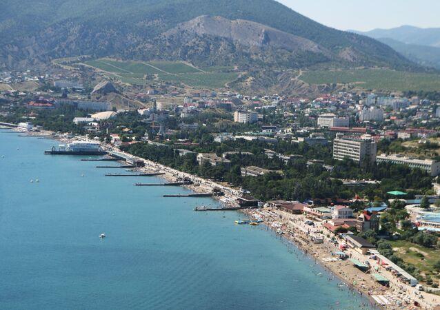 Wybrzeże miasta Sudak