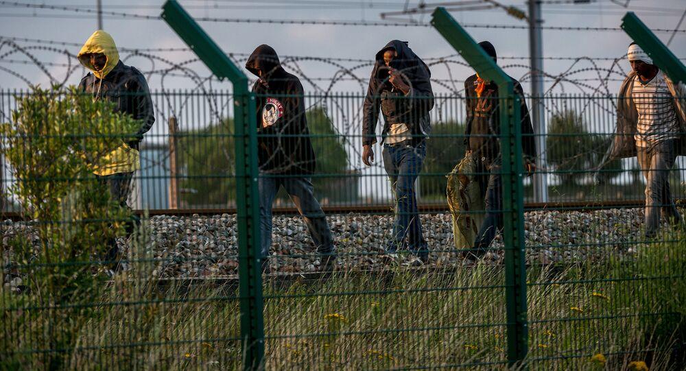 Imigranci na północy Francji