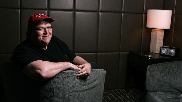 Reżyser Michael Moore - Sputnik Polska