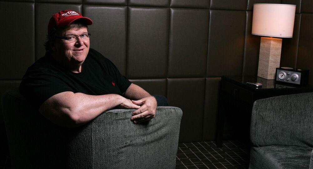 Reżyser Michael Moore