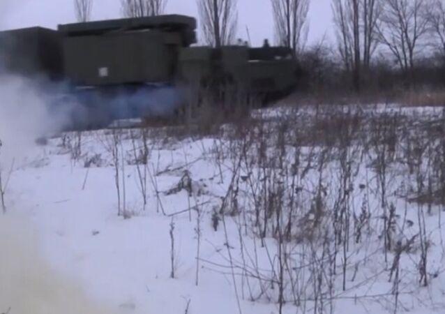 ćwiczenia taktyczne z kompleksami S-300PM1
