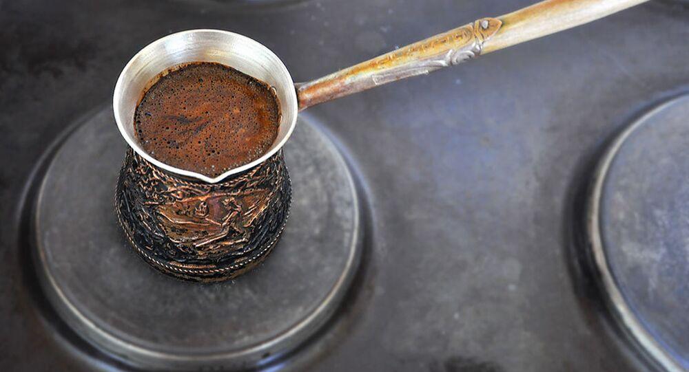Kawa w tygielku