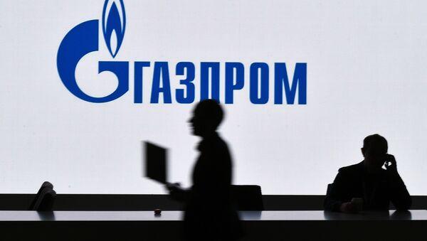Pawilon Gazpromu na wystawie zorganizowanej w ramach Rosyjskiego Forum Inwestycyjnego w Soczi - Sputnik Polska
