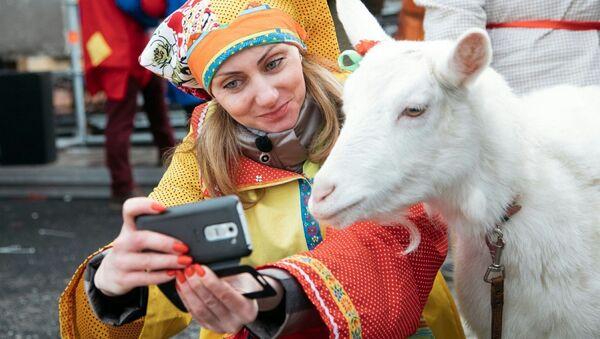 Koza Zabijaka z Samary - Sputnik Polska