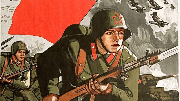 Plakat Za Ojczyznę, za honor, za wolność! 1941 rok - Sputnik Polska