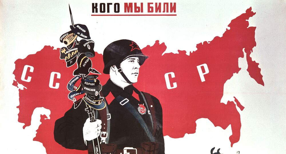 Armia Czerwona na radzieckich plakatach, 1939 rok