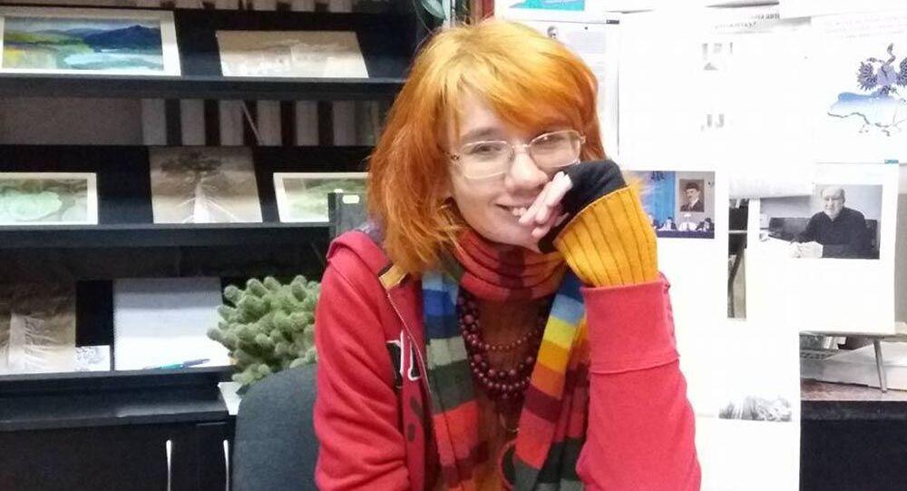 Ukraińska poetka Jewhenija Bilczenko