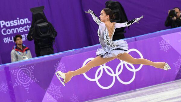 Alina Zagitowa, mistrzyni olimpijska z Pjongczangu 2018 - Sputnik Polska