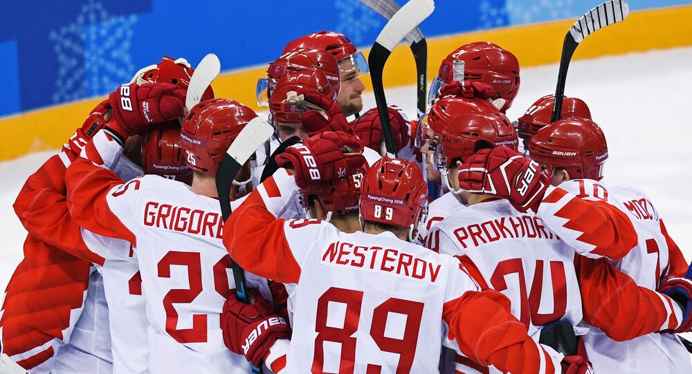 Rosyjscy hokeiści na Igrzyskach w Pjongczangu