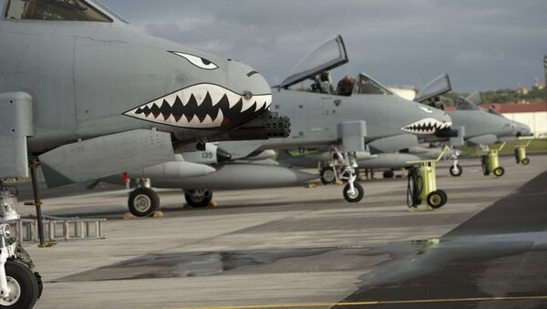 Baza lotnicza amerykańskich sił powietrznych Lajes na portugalskiej wyspie Terceira - Sputnik Polska