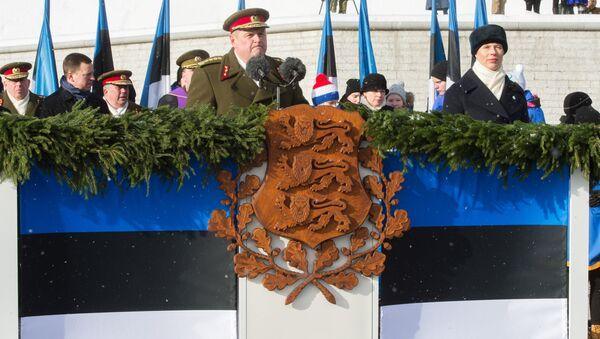 Obchody Dnia Niepodległości w Estonii - Sputnik Polska