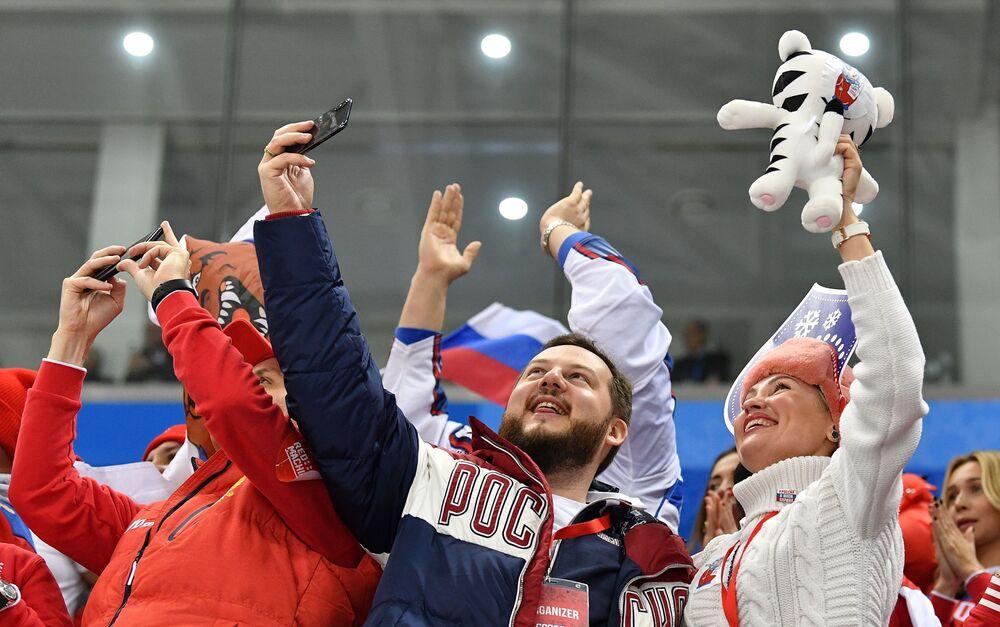 Kapitan reprezentacji Rosji w hokeju na lodzie Paweł Dacjuk powtórzył rekord Igrzysk Olimpijskich pod względem liczby asyst zakończonych golem.