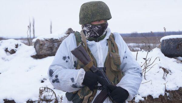 Zołnierz Milicji ŁRL - Sputnik Polska