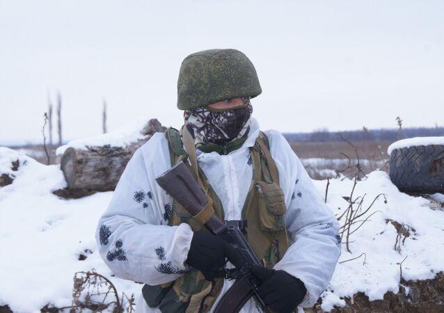 Żołnierz Milicji ŁRL