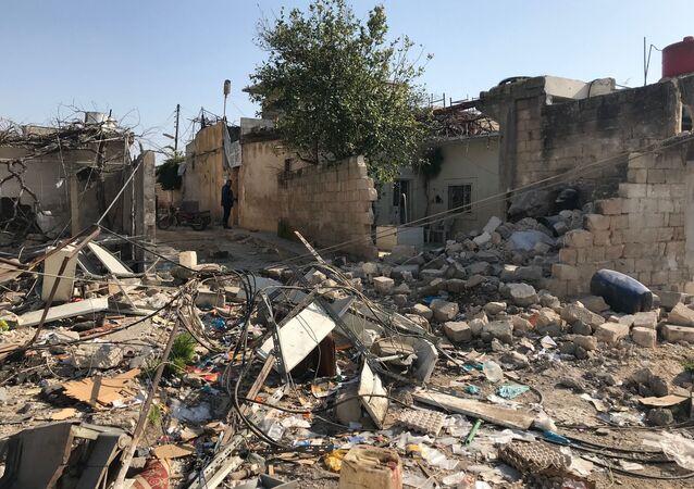Konsekwencje ostrzałów artyleryjskich Afrinu w Syrii