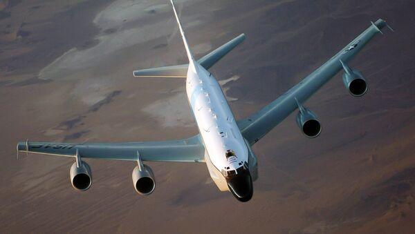 Amerykański samolot rozpoznawczy RC-135 - Sputnik Polska