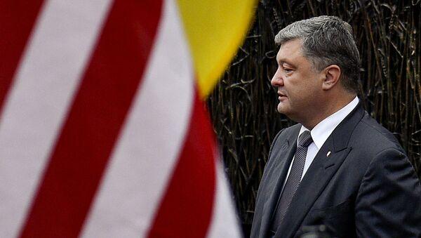 Wizyta prezydenta Ukrainy Petra Poroszenki w USA - Sputnik Polska