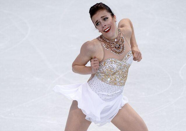 Amerykańska łyżwiarka figurowa Ashley Wagner
