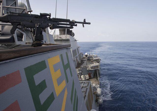 Niszczyciel rakietowy marynarki wojennej USA USS Ross