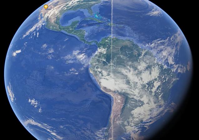 Dziwna linia na zdjęciu Ziemi, która opasa ponad 21 tysięcy kilometrów planety