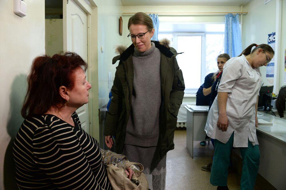Ksenia Sobczak w szpitalu
